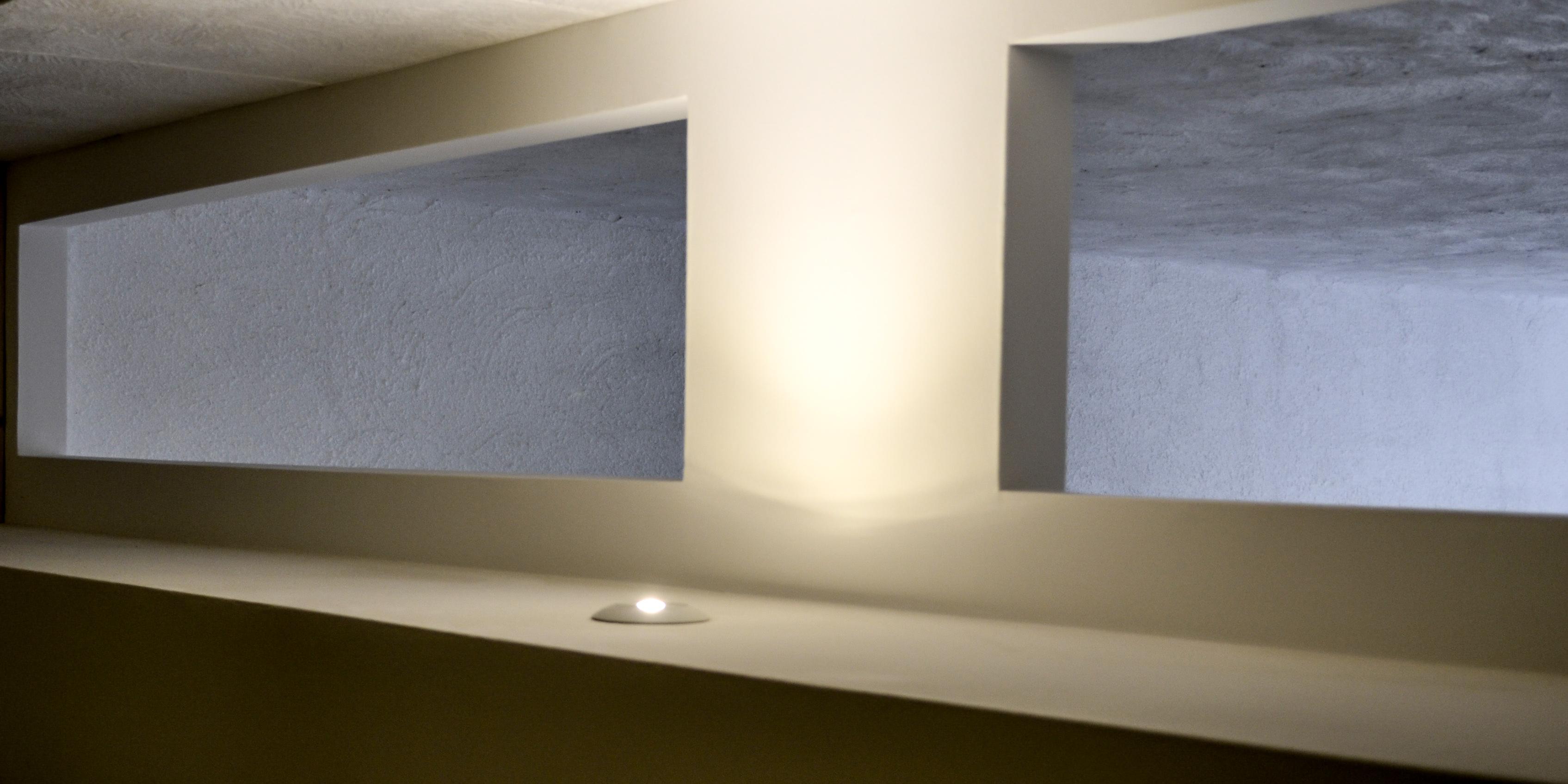 Travail placo-plâtre, avec intégration lampe LED SMD dernière génération